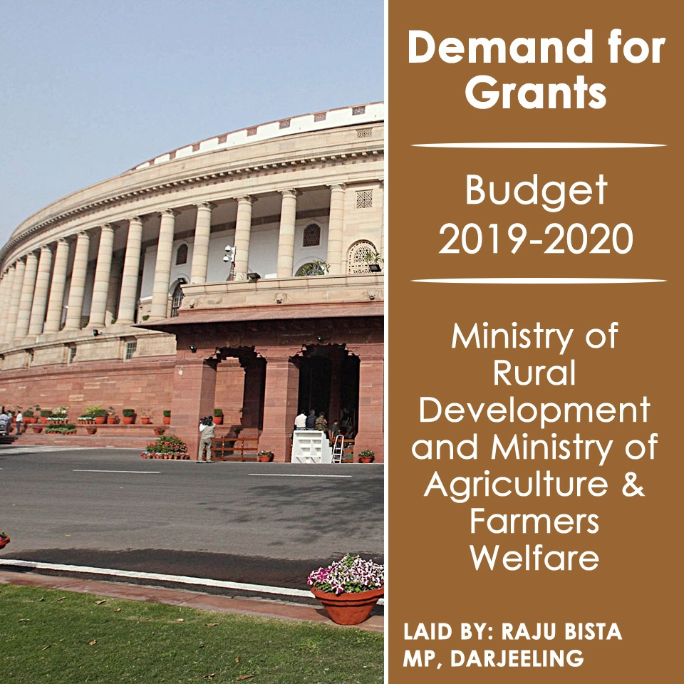 Demand for grants Darjeeling MP