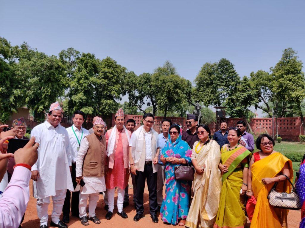 Durga Malla Birth Centenary Celebration in Parliament